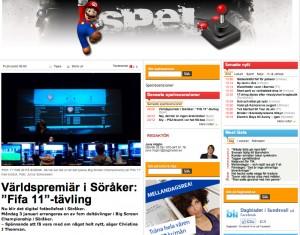 Världspremiär i Söråker_ _Fifa 11_-tävling - Spel - www.dagbladet.se